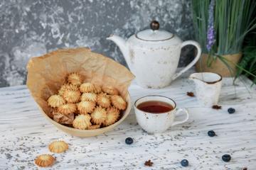 Печенье лавандовое