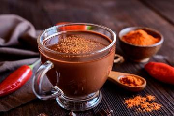 Раф шоколадный с чили перцем