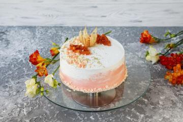 Торт Сырно-манговый